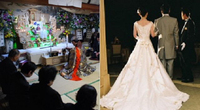 【唖然】父が他界して告別式と友人の結婚式がかぶった。新婦「お葬式の日って変えられないの?私はずっと前から準備してたのに…不幸なのは判るけどそ...