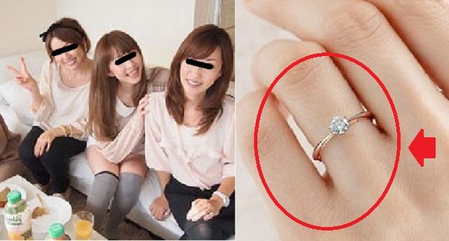 【修羅場】ママ友三人を我が家に呼んだら私の婚約指輪が無くなった。⇒ ママ友たちが帰る途中、駅でBさんの財布から指輪が落ちてきたそうだ