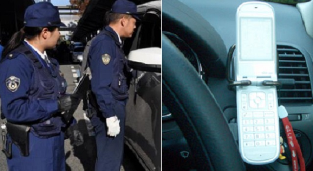 【スカッと】警察「運転中に電話してただろ」私「いいえ」警察「こっちはちゃんと見てるの!」私「じゃ携帯の色は何色でした?」