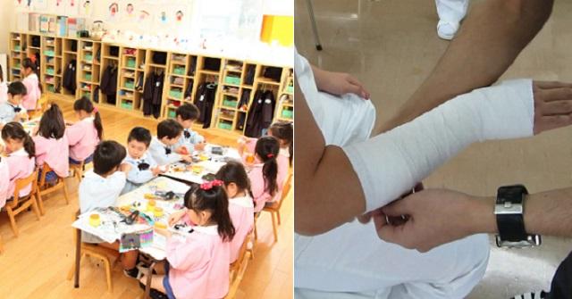幼稚園の先生だった時。ある園児がいきなり私の腕を噛んできて、急いで病院に駆け込むレベルのケガを負った!⇒ その後、その子の両親「先生血液検査...