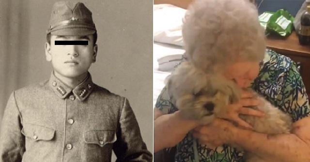 【涙腺崩壊】祖母が大事にしている祖父の軍服姿の白黒写真を、4日間かけてフルカラーに変えた ⇒ こっそり部屋に飾っておいた結果・・・
