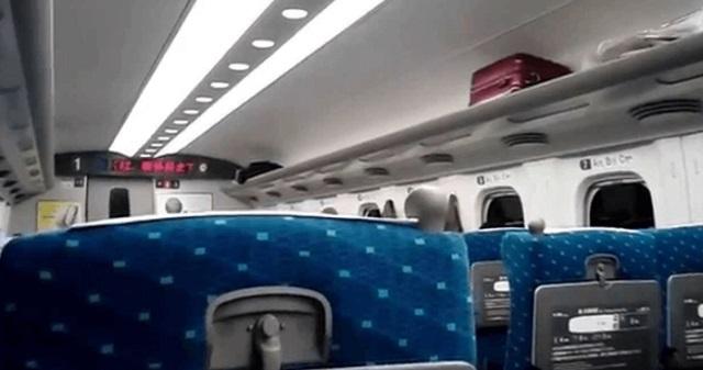 【スカッとする話】新幹線で。女「席間違えていません?」オッサン「うるせーんだよ!若いなら立ってろよ!」女「席返さないんですね」⇒ 結果www