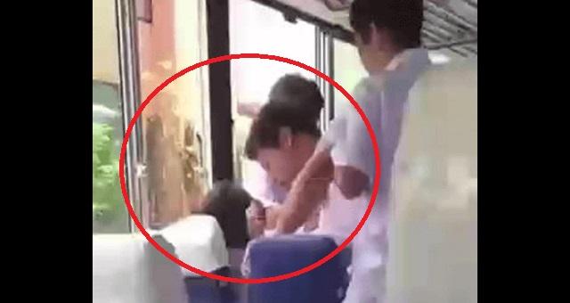 【大炎上】高校生が後輩をボコボコにイジメる動画が実名で大流出!