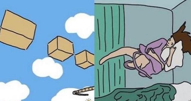 【夢診断】この夢を見たらガチでヤバい!ヤバ夢10選!→ 高所から落下する夢を見たら要注意!?