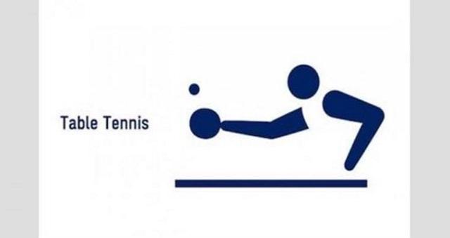 【騒然】東京オリンピック2020のピクトグラム。発表後、卓球のピクトグラムが品性下劣だとの指摘が相次ぐ事態になっていた・・・