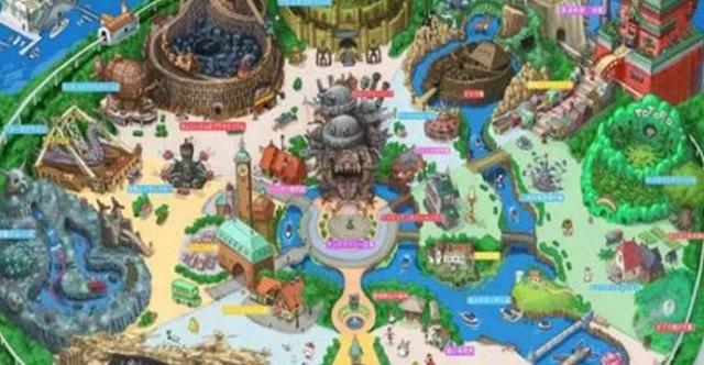 「ディズニーよりも行きたい!!」もしも東京ジブリーランドを作るならこんな感じ・・・!?