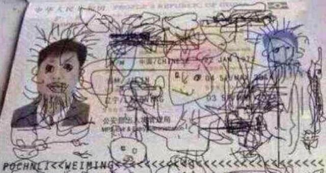 【悲報】パスポートに落書きされて国に帰れなくなってしまった中国人の悲劇