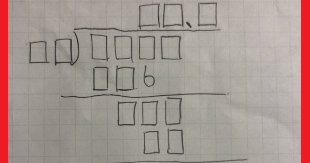 【あなたは解けますか?】ほとんど全部穴じゃん…!中学一年生が作った割り算の「虫食い算」の難易度がヤバ過ぎる・・・