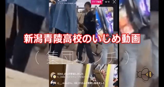 【衝撃事件】新潟青陵高校、集団暴行動画SNS投稿問題。新潟県警が捜査!主犯格は退学処分!⇒ この事件の教訓は・・・