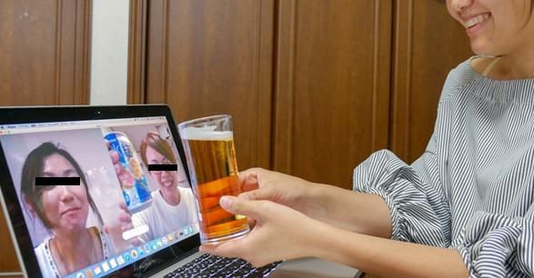 【悲報】流行りのオンライン飲み会について。旦那『今日もオンライン飲みしますか~!?』妻「…」← 新しいタイプの地獄が生まれつつあるという・・...