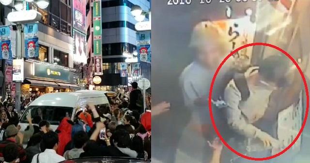 【炎上】渋谷のハロウィン暴動で300万円の券売機を破壊!!→ 犯人が謝罪し修理費負担!?結果は・・・