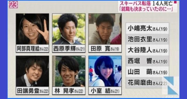 【驚愕】軽井沢スキーバス転落事故の被害者の中にあの有名人の◯◯もいた!→ 悲痛な面持ちで語られたのは・・・