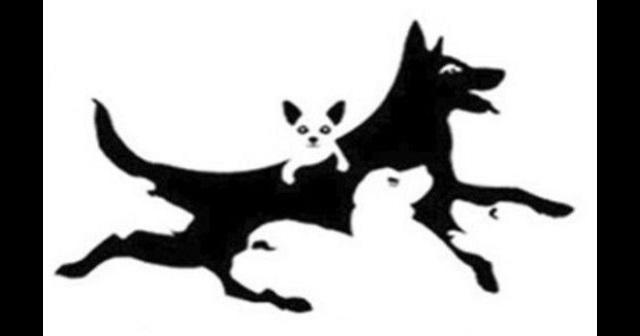 【犬は何匹?】絵の中に見える犬の数であなたの『精神年齢』がわかる!当たると評判の心理テストがコチラ!!