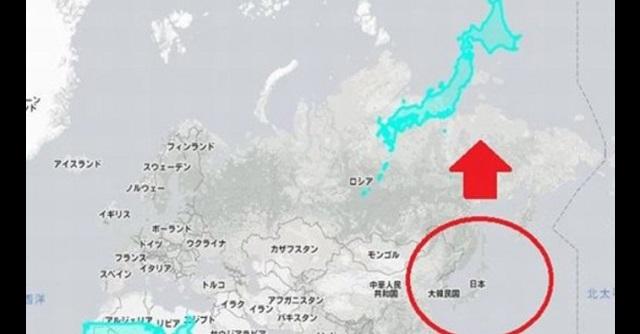 【驚愕事実】日本の国土って意外に大きかった!?『日本国の本当の大きさ』に衝撃!!