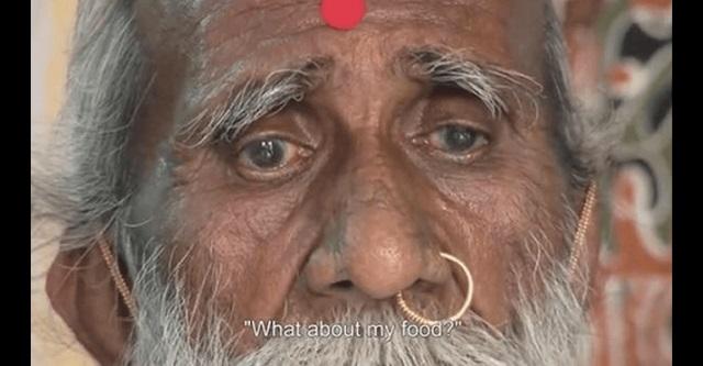【驚愕】インド人もびっくり!?70年間飲まず食わずだという脅威のお爺ちゃん → 怪しいので15日間監視した結果・・・