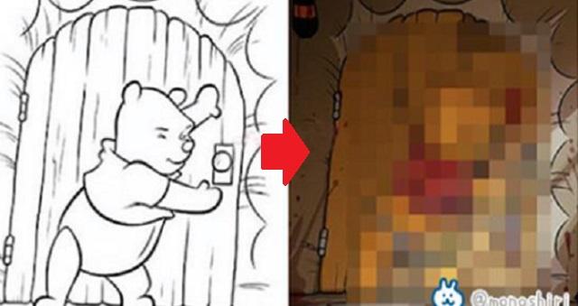 【センスに驚愕】どうしてそうなった!?大人が塗り絵を描いてみたら…『子供の夢をブチ壊す大人の塗り絵』11選