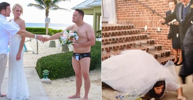 晴れの舞台でやらかした・・・結婚式の痛い写真12選