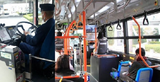 誰もいない無人の停留所に突然止まったバス。その直後、運転手が放った言葉に乗客の顔色が変わる・・・