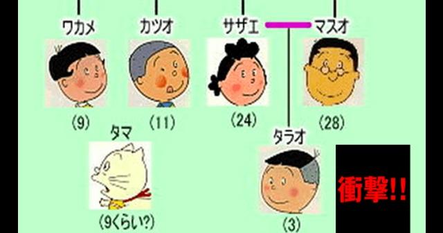 【衝撃事実】マスオさん・サザエさんにはもう一人の子どもがいた!!→ その存在が発覚したタラちゃんの妹とは!?