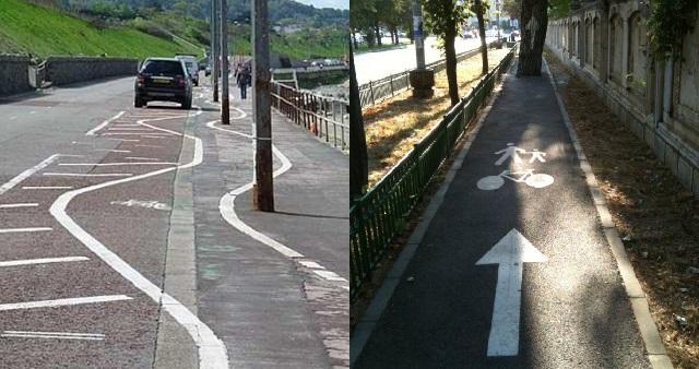 【酷い】人を陥れる世界のおかしな自転車専用道12選